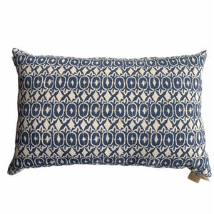 Navy Printed Pillow - Lady of the Lake