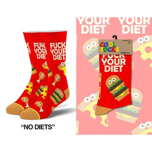 No Diets Men's Socks - Lady of the Lake
