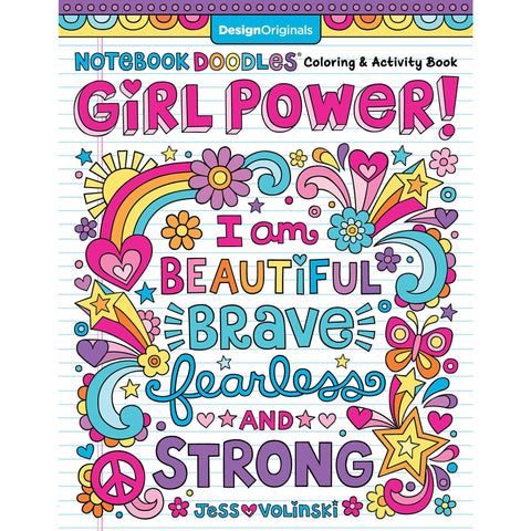 Notebook Doodles Girl Power!: Coloring & Activity Book - Lady of the Lake