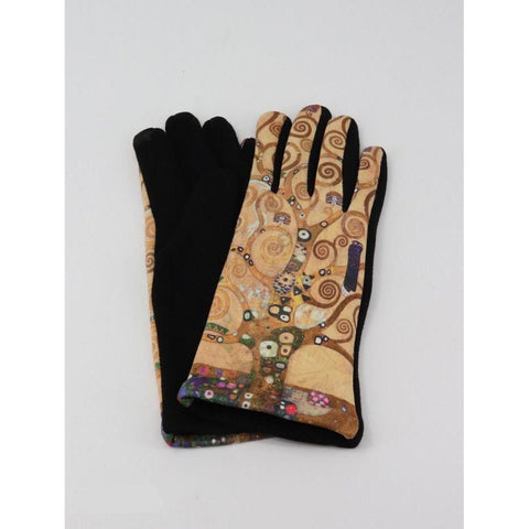 Oil Painting Touch Screen Glove - Lady of the Lake