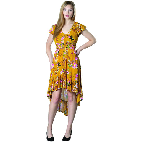 Olé Dress - Mustard - Lady of the Lake