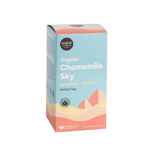 Organic Chamomile Sky Tea Sachets - Tealish - Lady of the Lake