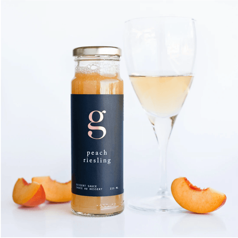 Peach Riesling Dessert Sauce - Lady of the Lake