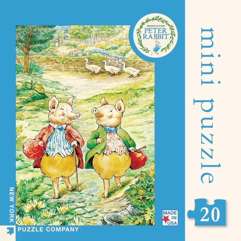 Pigling Bland & Alexander - Mini Puzzle - Lady of the Lake