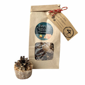 Pinecone Fire Starter - 4 Pack - Lady of the Lake