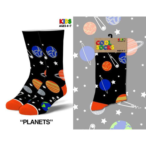 Planets Children's Socks - Lady of the Lake
