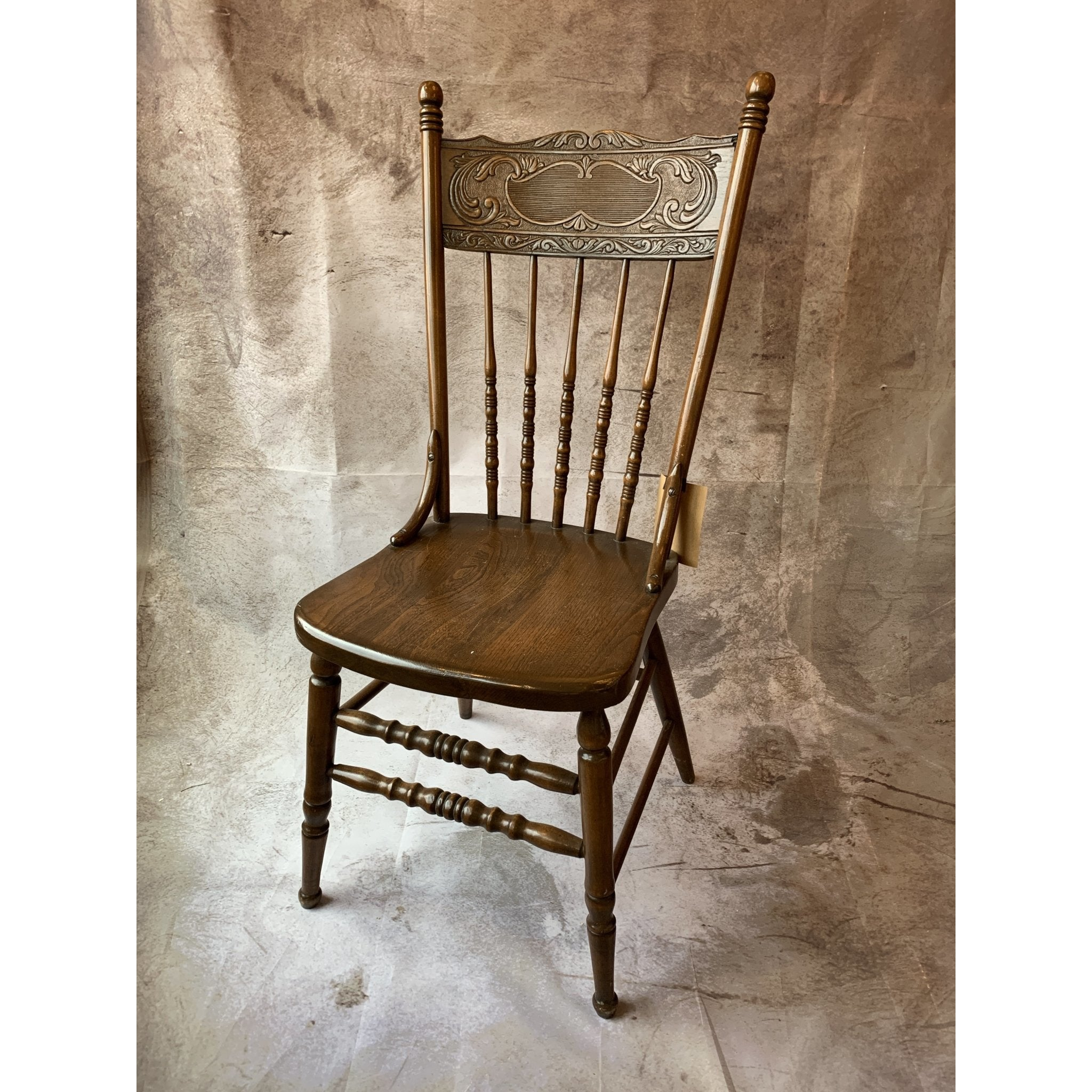 Pressed Back Chair - Lady of the Lake