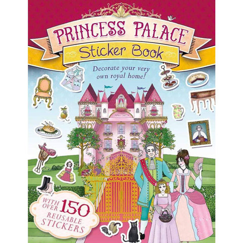 Princess Palace Sticker Book - Paperback - Lady of the Lake