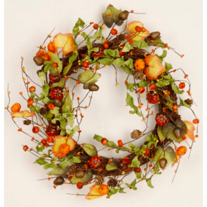 Pumpkin & Berry Wreath - Lady of the Lake