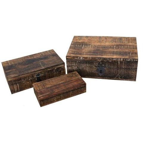 Reclaimed Wood Boxes - Lady of the Lake