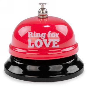 Red Metal Bell - Ring For Love - Lady of the Lake