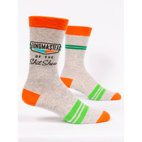 Ringmaster Of This Sh*tshow Men's Socks - Lady of the Lake