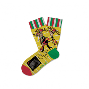 Rockin' Reindeer Children's Socks in Two Sizes - Lady of the Lake