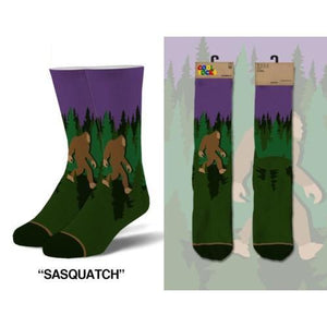 Sasquatch Men's Socks - Lady of the Lake