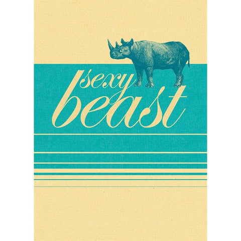Sexy Beast - Greeting Card - Birthday - Lady of the Lake