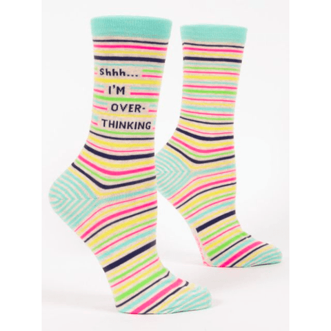 Shhh... I'm Overthinking it Women's Socks - Lady of the Lake
