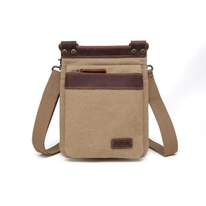 Small Canvas Crossbody Bag - Lady of the Lake