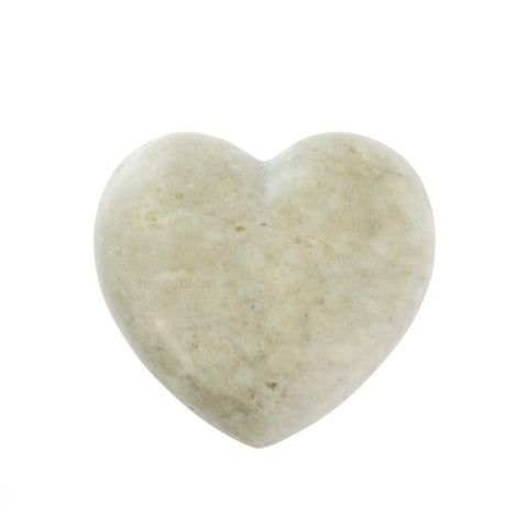 Soapstone Heart - Grey - Lady of the Lake