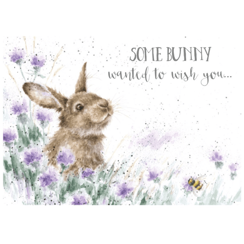 'Some Bunny Wanted to Wish You' Charming Greeting Card - Lady of the Lake