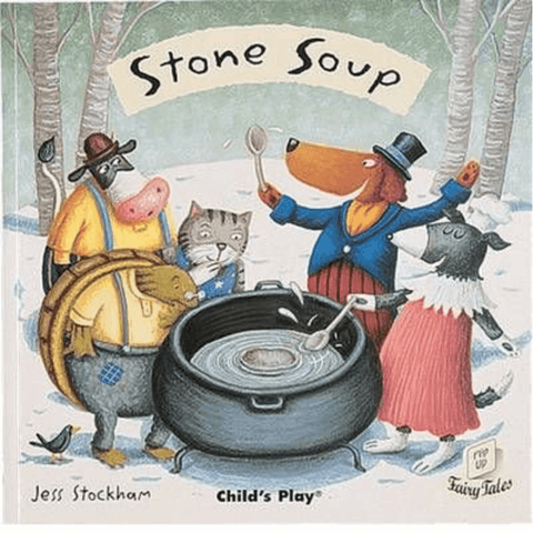 Stone Soup by Jess Stockham (Flip-Up Fairy Tales with CD) - Lady of the Lake