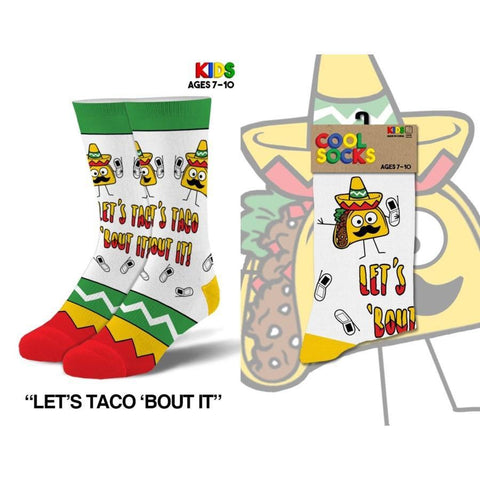 Taco 'Bout It Children's Socks - Lady of the Lake