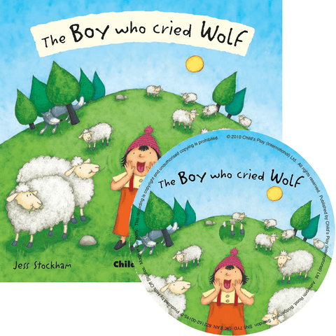 The Boy Who Cried Wolf by Jess Stockham (Flip-Up Fairy Tales with CD) - Lady of the Lake