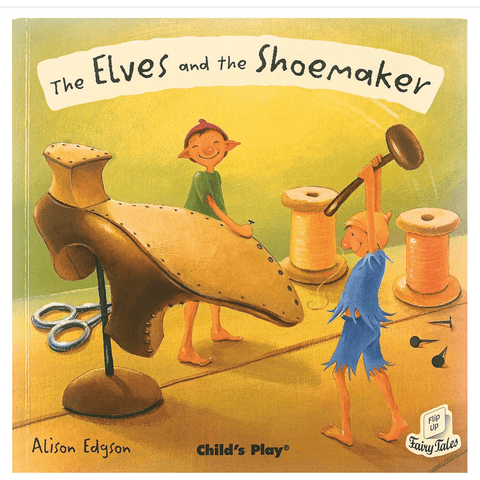 The Elves and the Shoemaker by Alison Edgson (Flip-Up Fairy Tales with CD) - Lady of the Lake