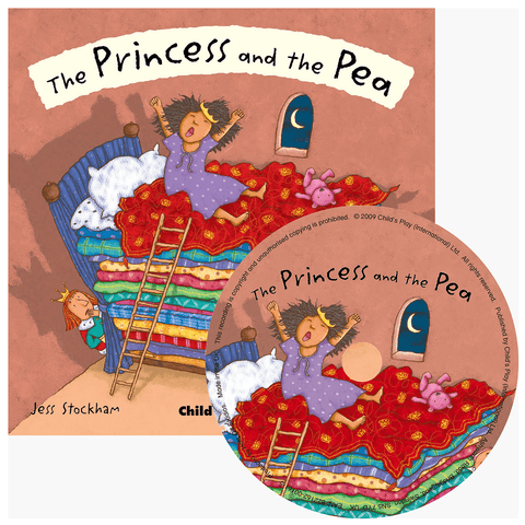 The Princess and the Pea by Jess Stockham (Flip-Up Fairy Tales with CD) - Lady of the Lake