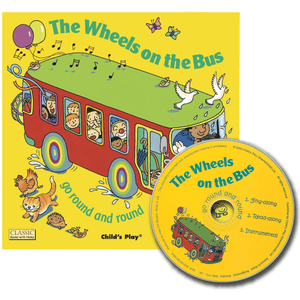 The Wheels on the Bus (Flip-Up Fairy Tales with CD) - Lady of the Lake
