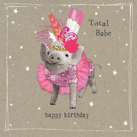 Total Babe - Greeting Card - Birthday - Lady of the Lake