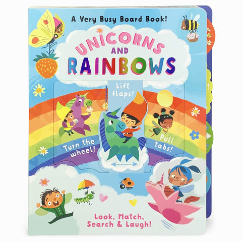 Unicorns and Rainbows: A Very Busy Board Book! - Lady of the Lake