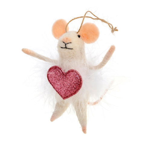 Valentina Mouse - Ornament - Lady of the Lake