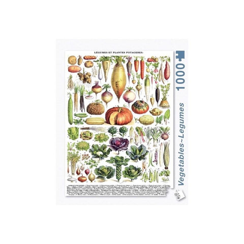 Vegetables - Legumes - Puzzle - Lady of the Lake