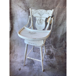 Vintage Highchair - Lady of the Lake