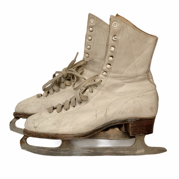 Vintage Ladies Figure Skates - Lady of the Lake