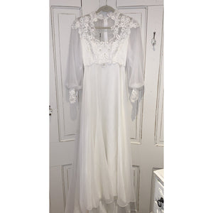 Vintage Wedding Dress - Edith - Lady of the Lake