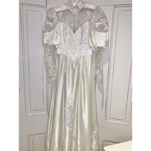 Vintage Wedding Dress - Mary - Lady of the Lake