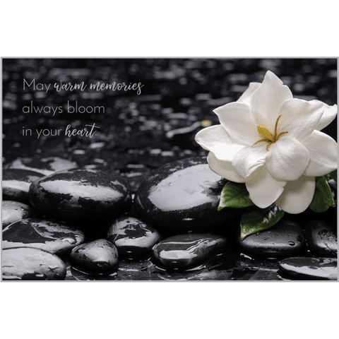 Warm Memories - Greeting Card - Sympathy - Lady of the Lake