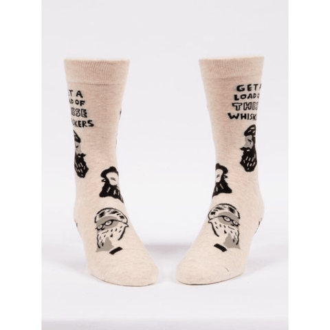 Whiskers Men's Socks - Lady of the Lake