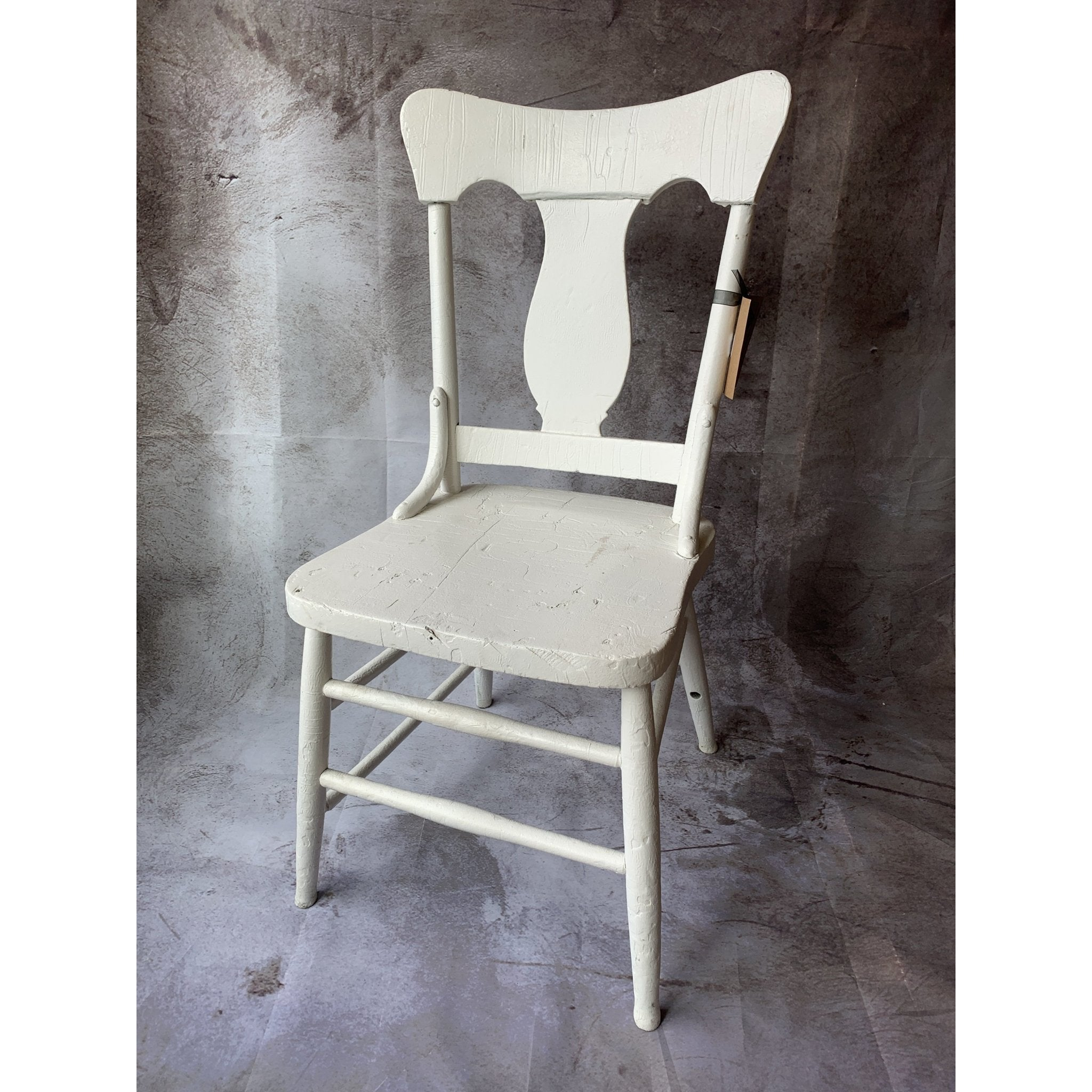 White Painted Chair - Lady of the Lake