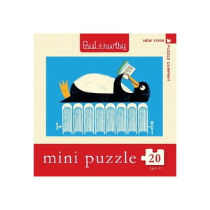 Winter Reads - Mini Puzzle - Lady of the Lake