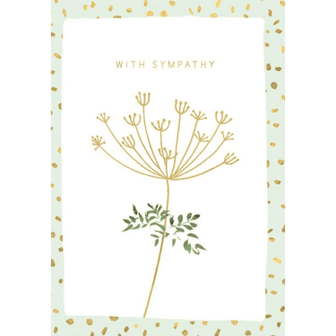 With Sympathy - Greeting Card - Sympathy - Lady of the Lake