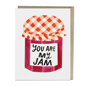 You Are My Jam - Greeting Card - Blank - Lady of the Lake