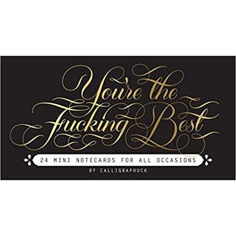 You're The Fucking Best - Greeting card - Lady of the Lake