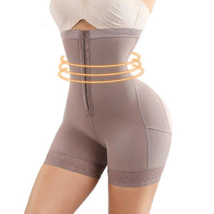 AlphaSexy Body Shapewear Alpha Limitless Brown / 4XL