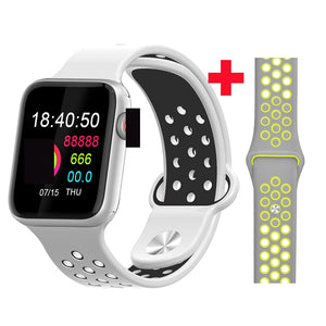 Fitness Smart Watch Alpha Limitless Silver white gray y