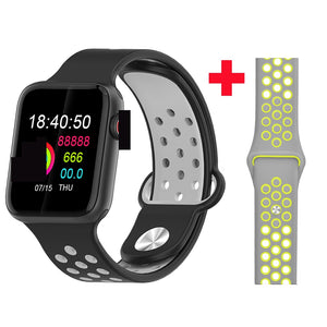 Fitness Smart Watch Alpha Limitless black grey yellow s