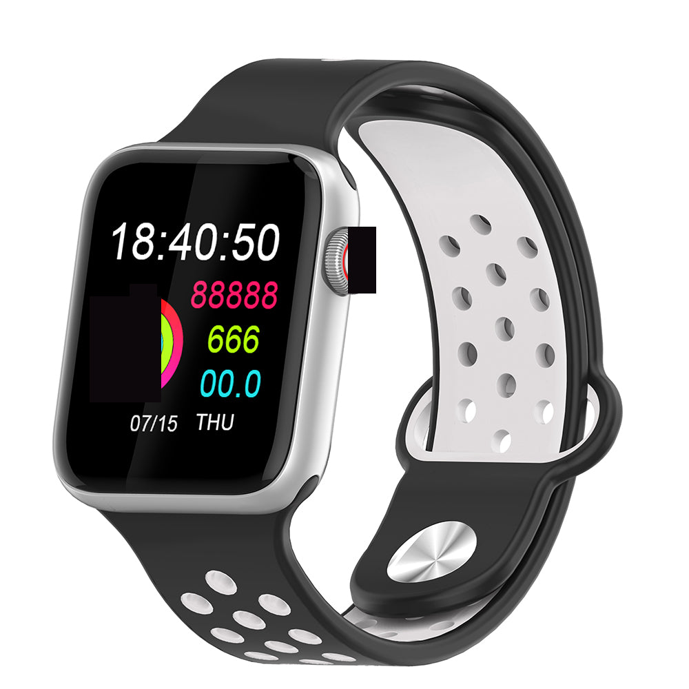 Fitness Smart Watch Alpha Limitless silver black white