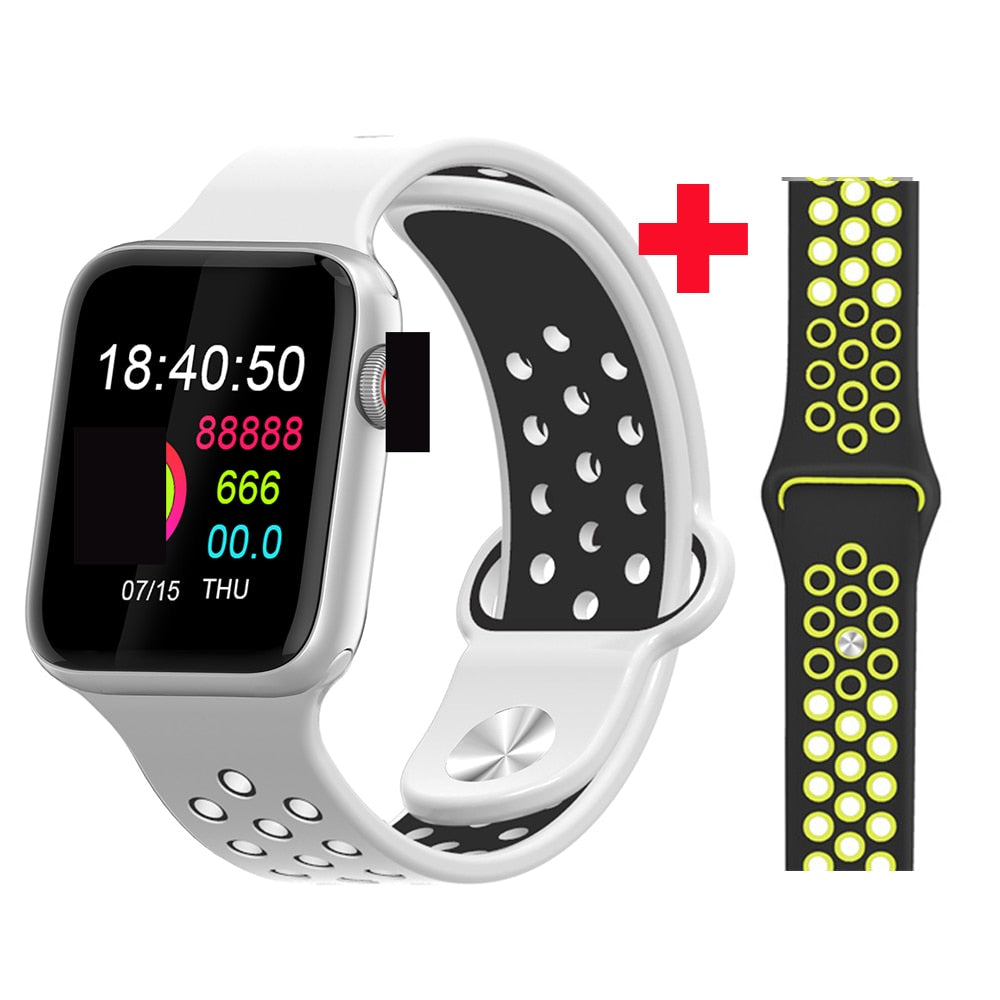 Fitness Smart Watch Alpha Limitless Silver white black y