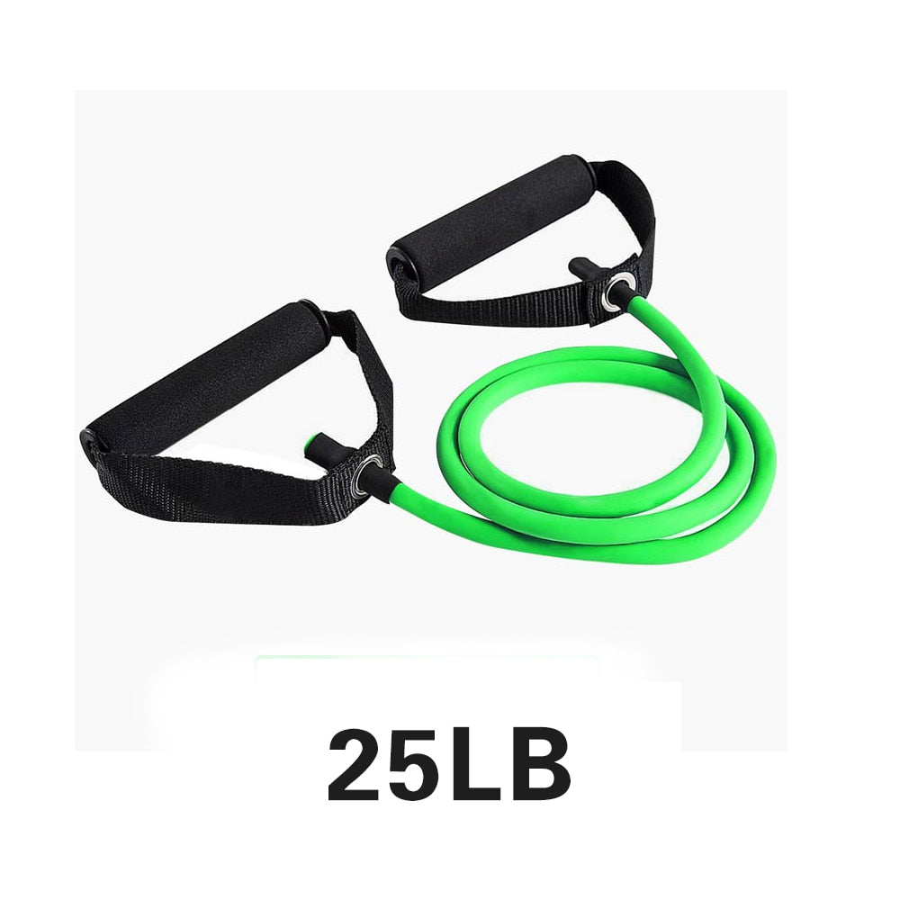 Yoga Pull Rope Resistance Bands Alpha Limitless Green-25lb